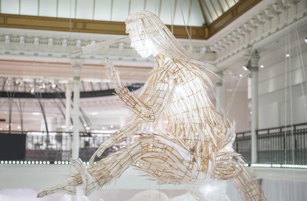 Expo ER XI Ai Weiwei au Bon Marche? oeuvre Taifeng  �Gabriel de la Chapelle-2